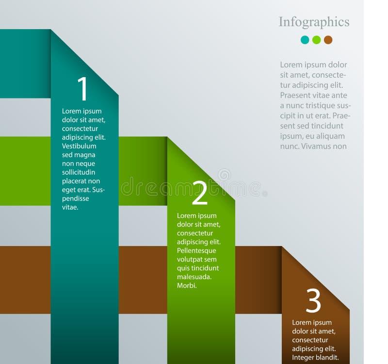 Infographic wektoru szablon ilustracji