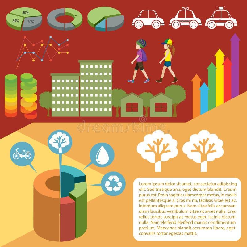 Download Infographic Z Wykresami I Ludźmi Ilustracja Wektor - Ilustracja złożonej z środowisko, prezentacja: 57657803