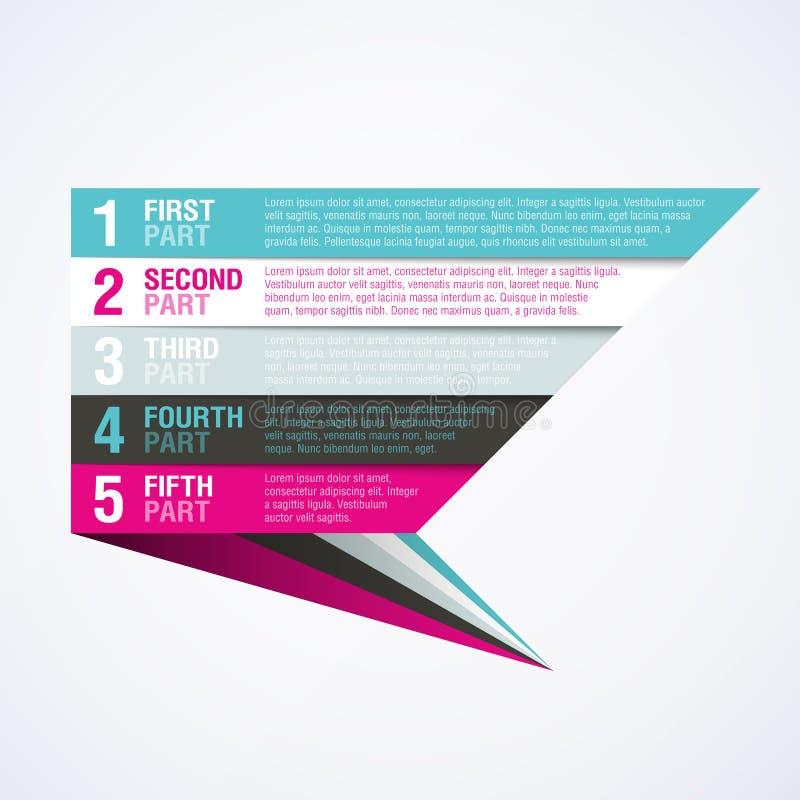 Infographics元素 库存例证