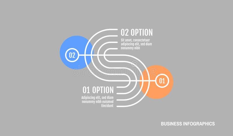 Infographics模板 您的设计的图表概念 能为工作流程布局,图,企业步选择使用和 库存例证