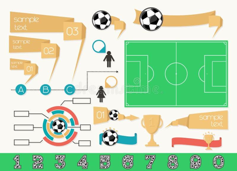 Infographics设计元素 皇族释放例证