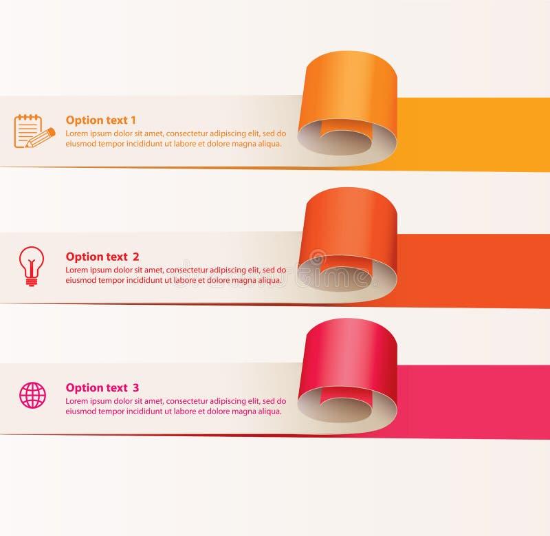 Infographics stock abbildung