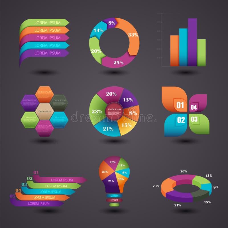Infographics illustrazione vettoriale