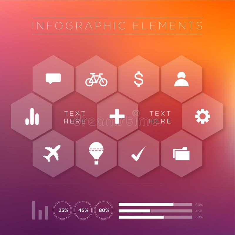 Infographics stock foto