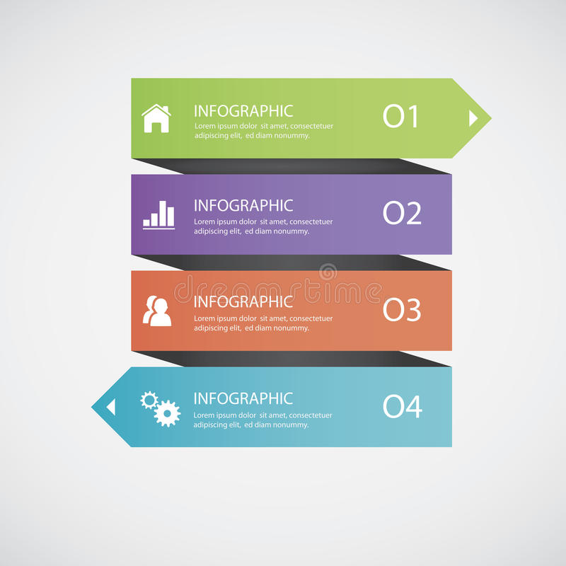 Infographics abstracto fotos de archivo