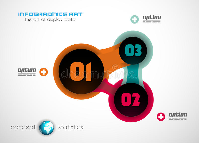 Infographics concept background to display your data. In a stylish way. Clean detailaed design for stats, ranking and classifications vector illustration