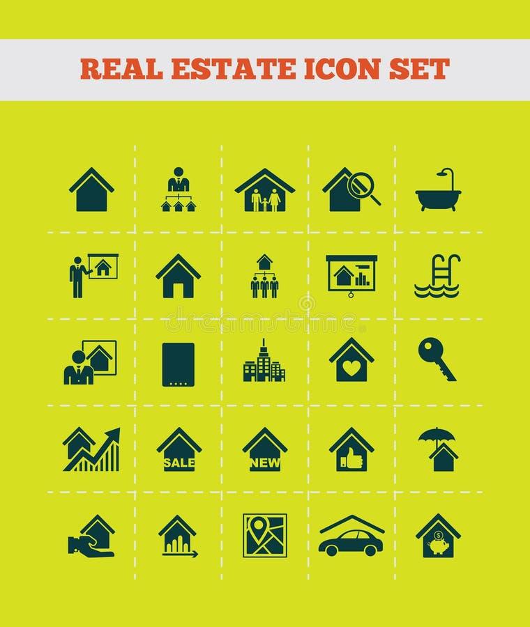 Infographics de las propiedades inmobiliarias libre illustration