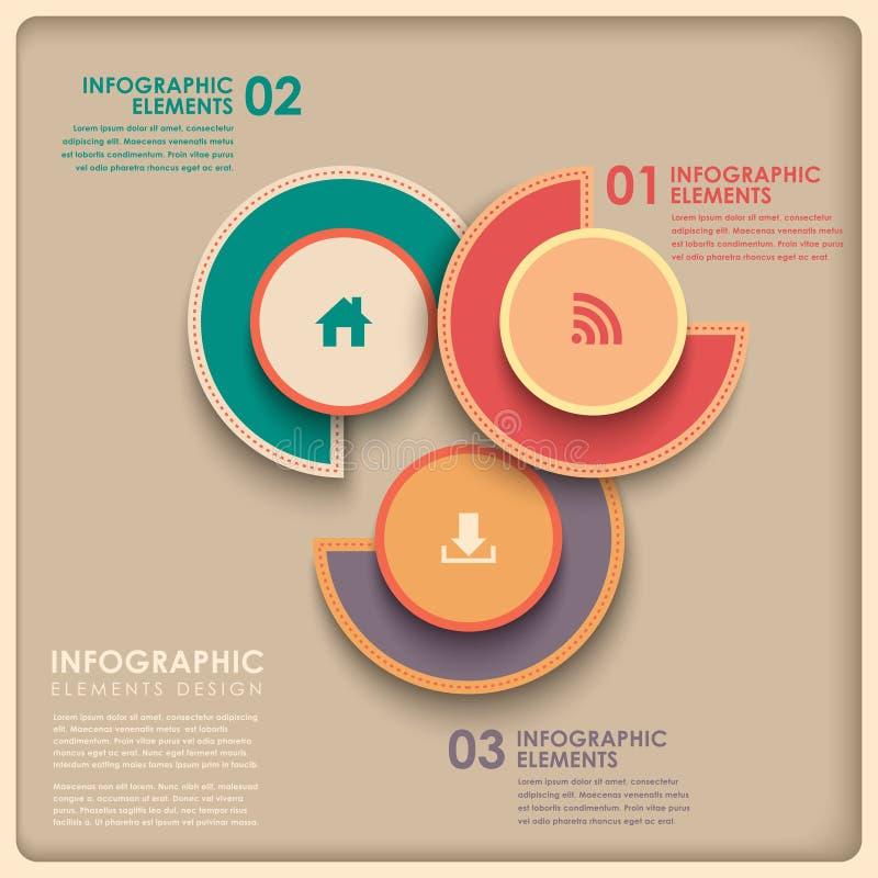 infographics del gráfico de sectores del extracto 3d libre illustration