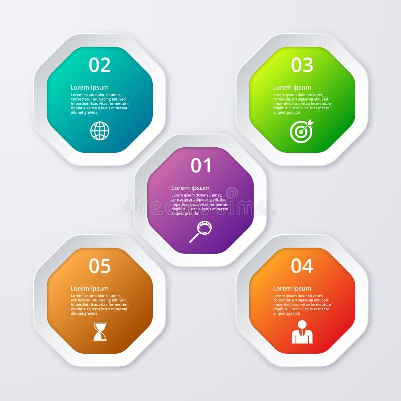 Download Infographics Dell'illustrazione Di Vettore Degli Ottagoni Illustrazione Vettoriale - Illustrazione di origami, pubblicità: 56890651