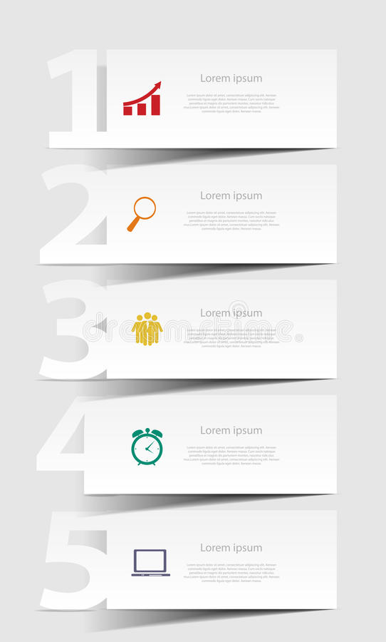 INFOGRAPHICS design elements vector illustration royalty free illustration