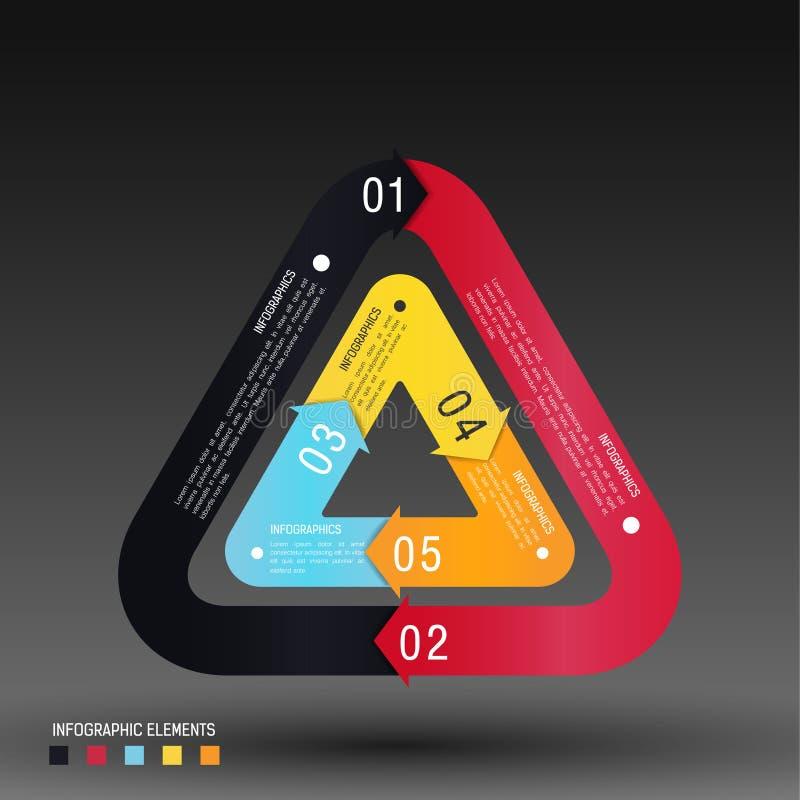 Infographics Design template stock illustration