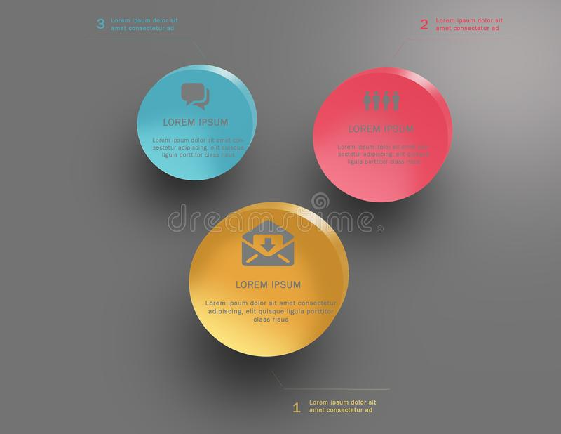 Infographics design vector. Business and marketing icons vector illustration