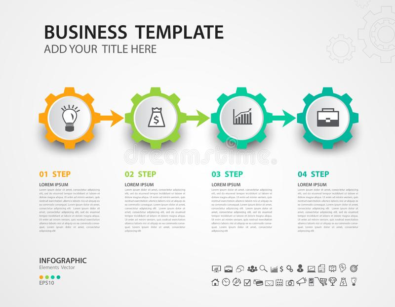 Infographics design vector template, Timeline, process chart, presentation, diagram, creative concept for infographic. Web page, banner, business step options vector illustration