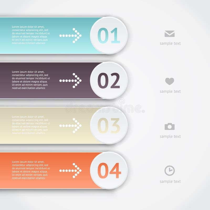 Infographics di vettore immagine stock