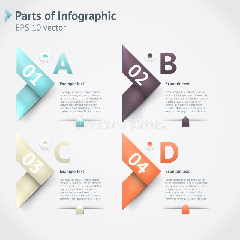 Infographics di vettore fotografia stock