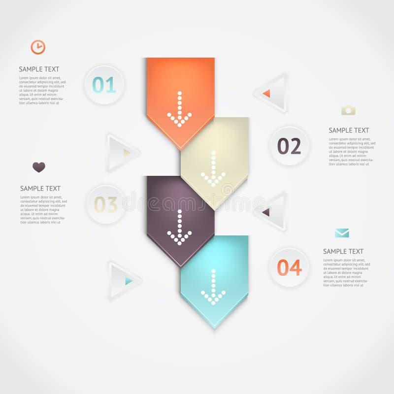 Infographics di vettore immagini stock libere da diritti