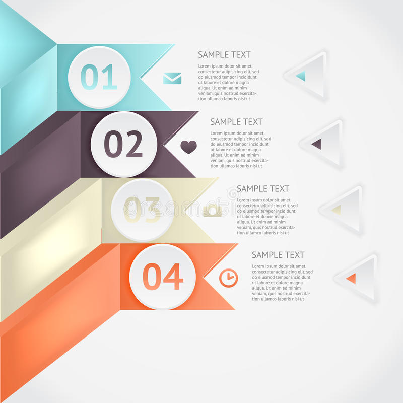 Infographics di vettore fotografie stock