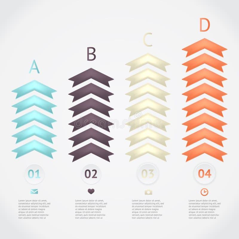 Infographics di vettore fotografia stock libera da diritti