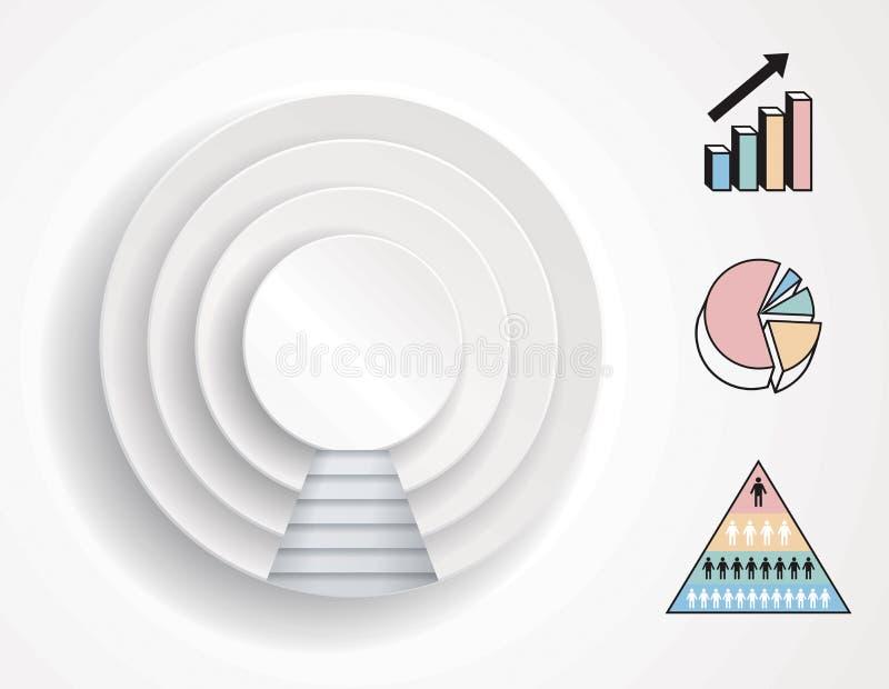 Infographics Diagram stock photography