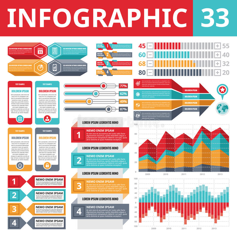 Free Infographics Elements 33 Royalty Free Stock Images - 39841739