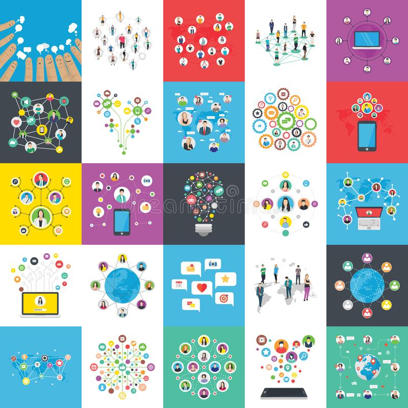 Infographics Flat Illustrations Pack. These infographic flat illustrations pack is denoting to offer numerous data entry, graphical representation, planning vector illustration