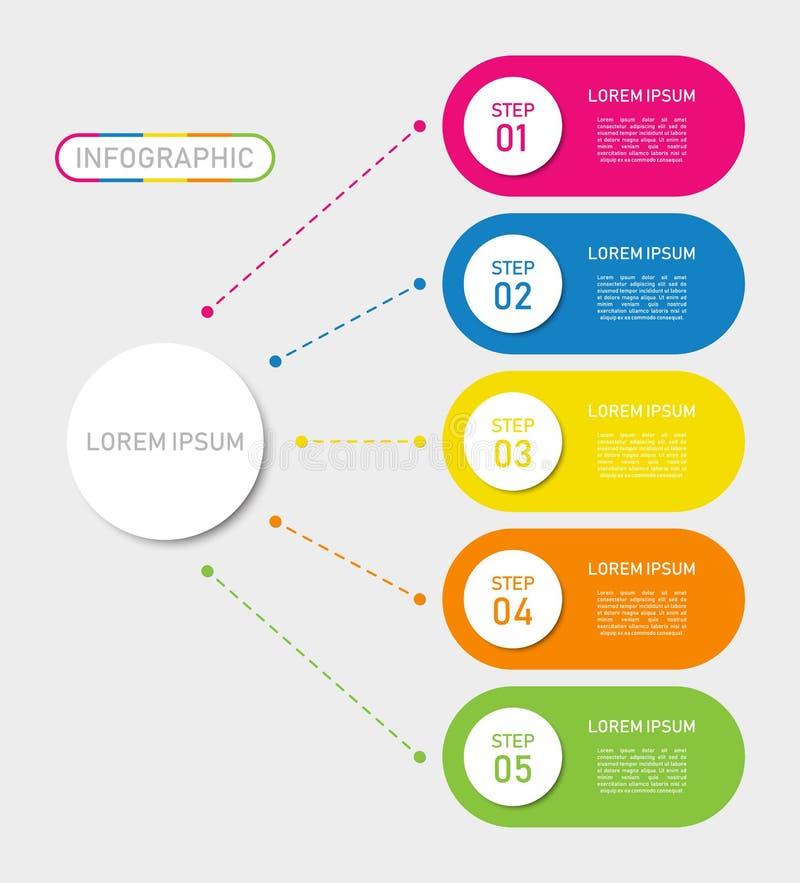 Дизайн infographics срока, для любого случая бесплатная иллюстрация