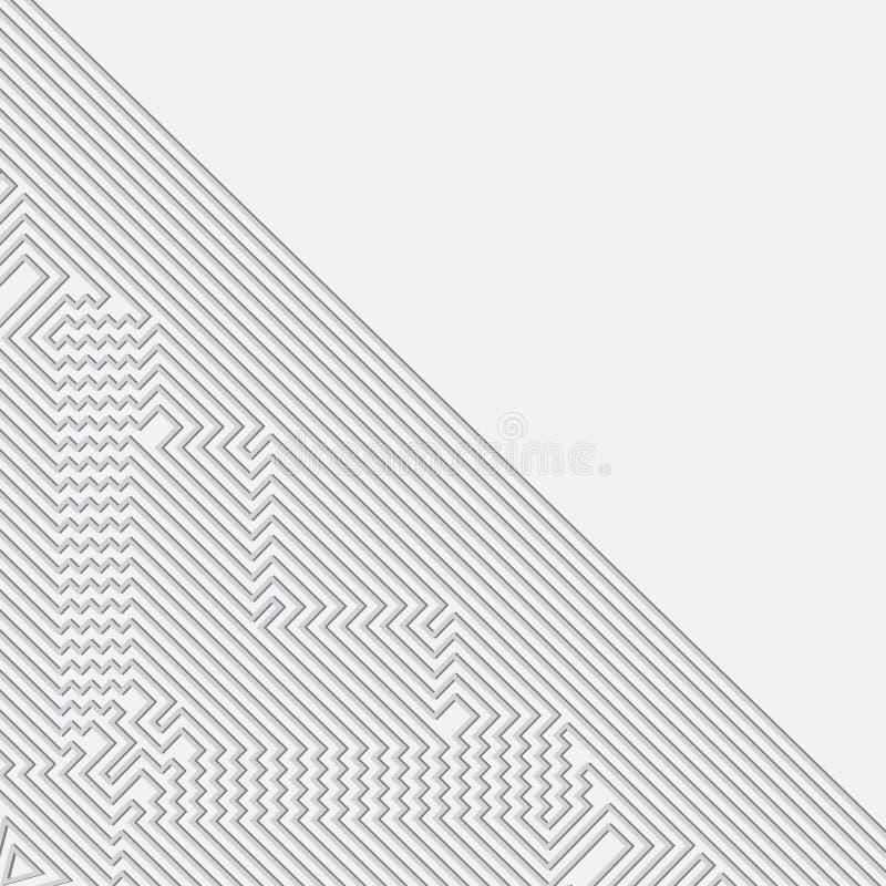 Infographics Futuristische vectorachtergrond royalty-vrije illustratie