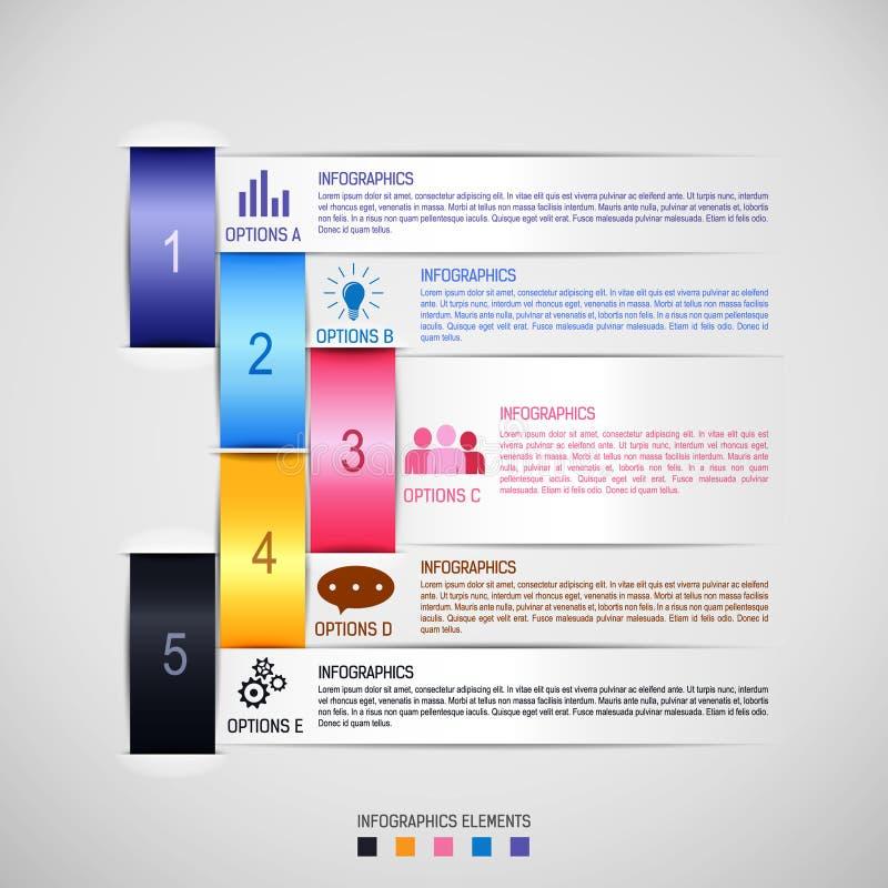 Infographics infographicsmall royaltyfri illustrationer