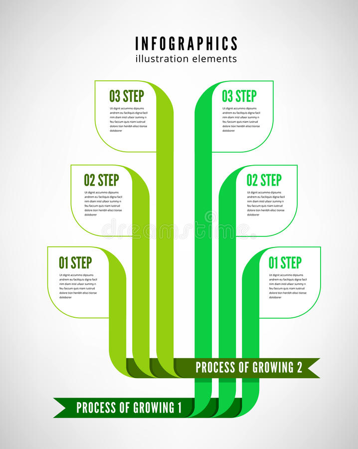 Free Infographics Process Stock Photography - 36041312