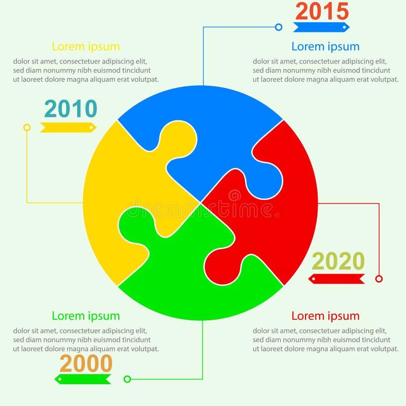 Infographics rapportmallar i form av a royaltyfri illustrationer