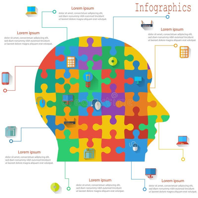Infographics rapportmallar i form av royaltyfri illustrationer