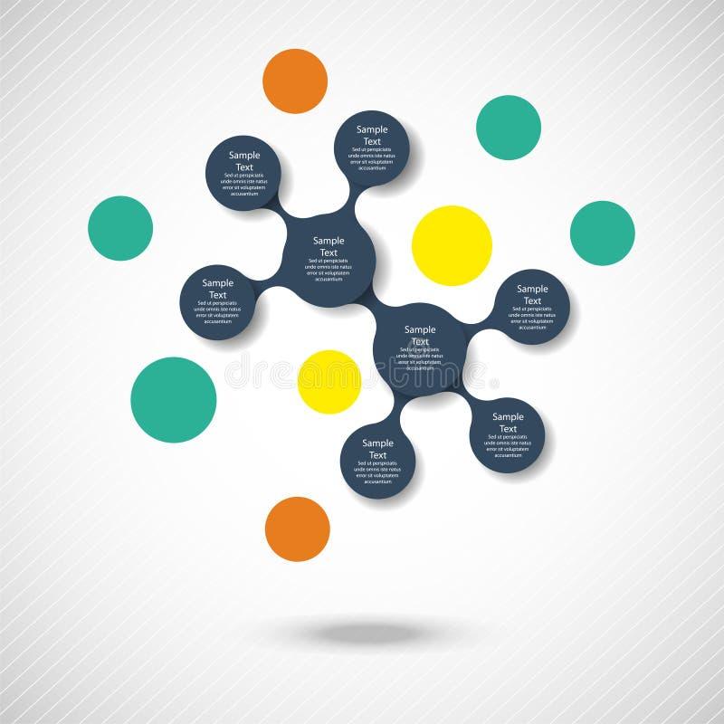 Download Infographics Redondo Colorido Del Diagrama De Metaball Ilustración del Vector - Ilustración de conexión, circular: 42445177