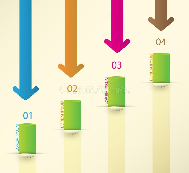 Infographics-Satz der unterschiedlichen Art. Vektor vektor abbildung