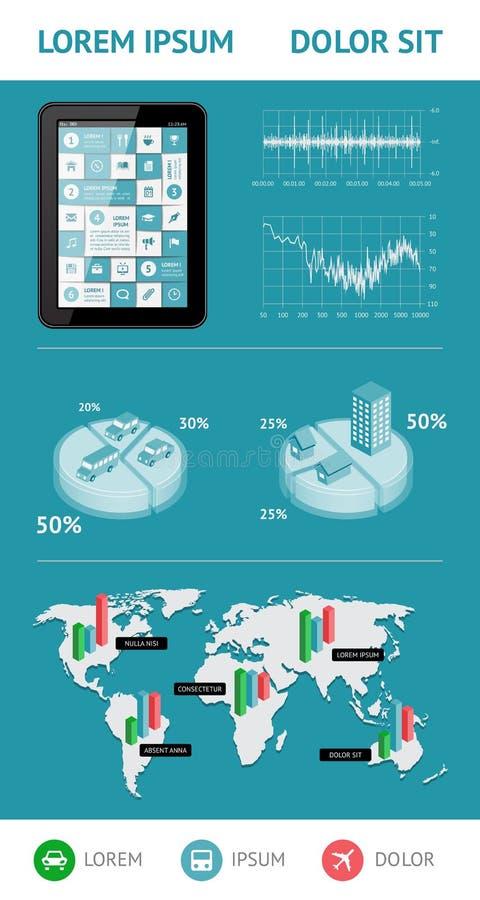Infographics und Netzelemente