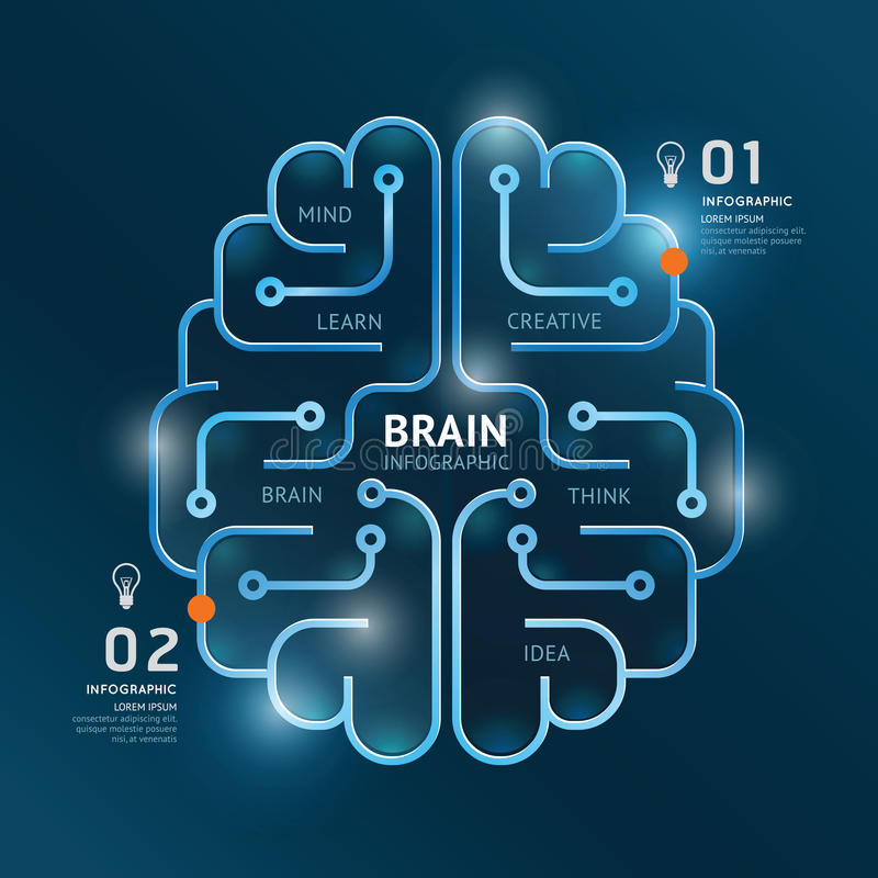 Infographics vector brain design diagram banner line style stock download infographics vector brain design diagram banner line style stock illustration illustration of icon ccuart Image collections