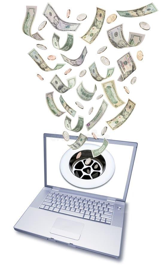 Informática cara imagens de stock
