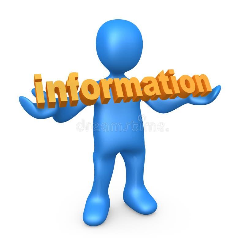 Informação ilustração royalty free
