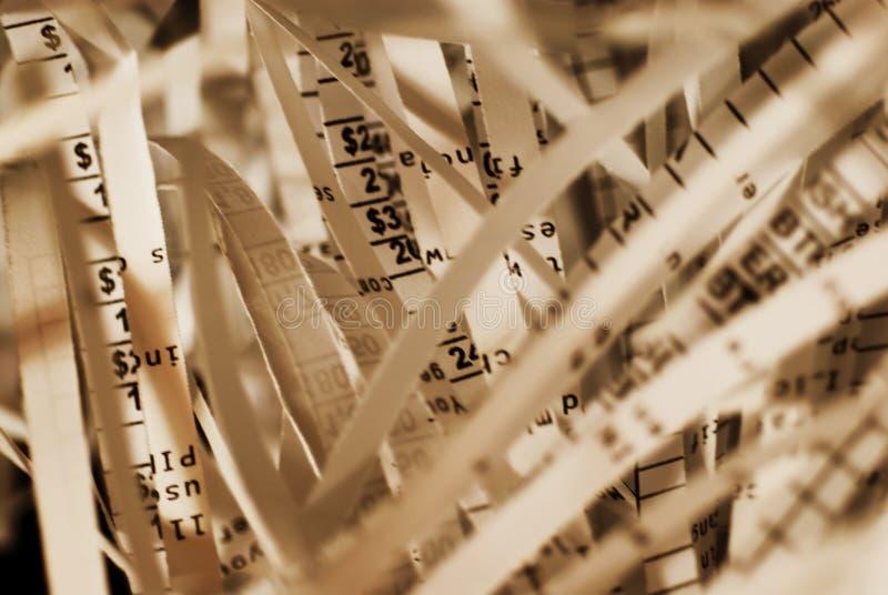 Informação confidencial imagem de stock