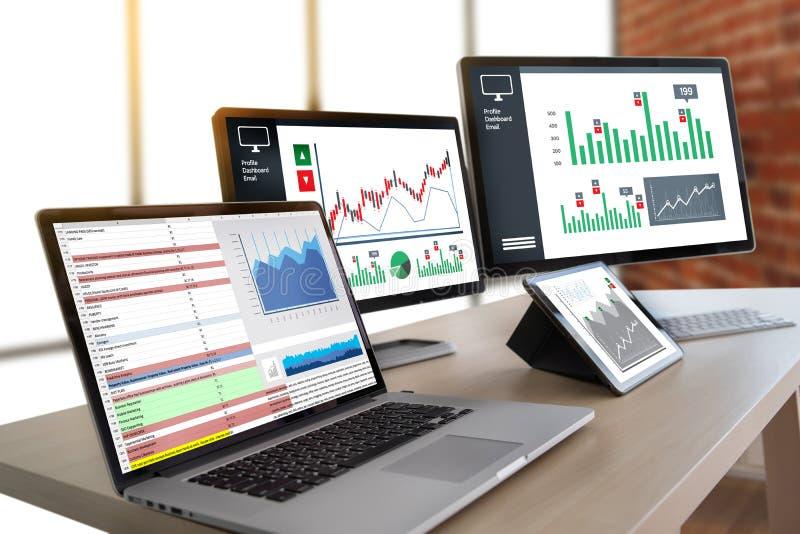 informação de negócios Technol das estatísticas da analítica dos dados duros do trabalho imagens de stock royalty free
