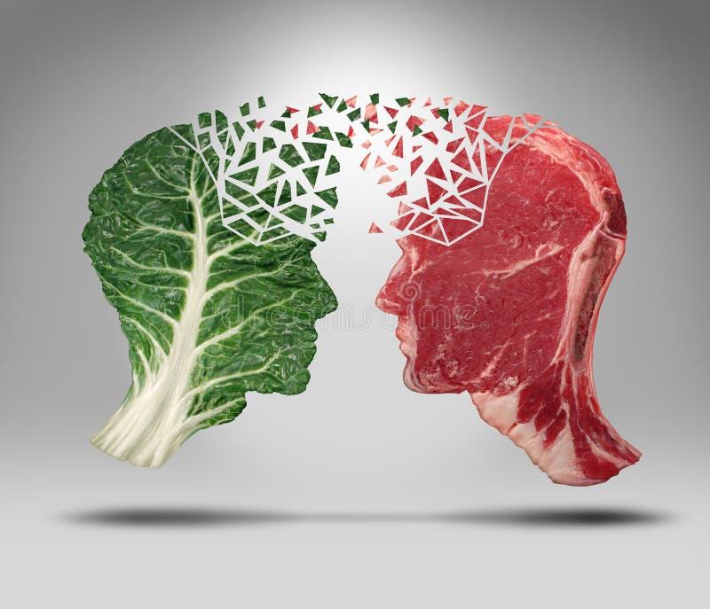 Informação do alimento ilustração stock