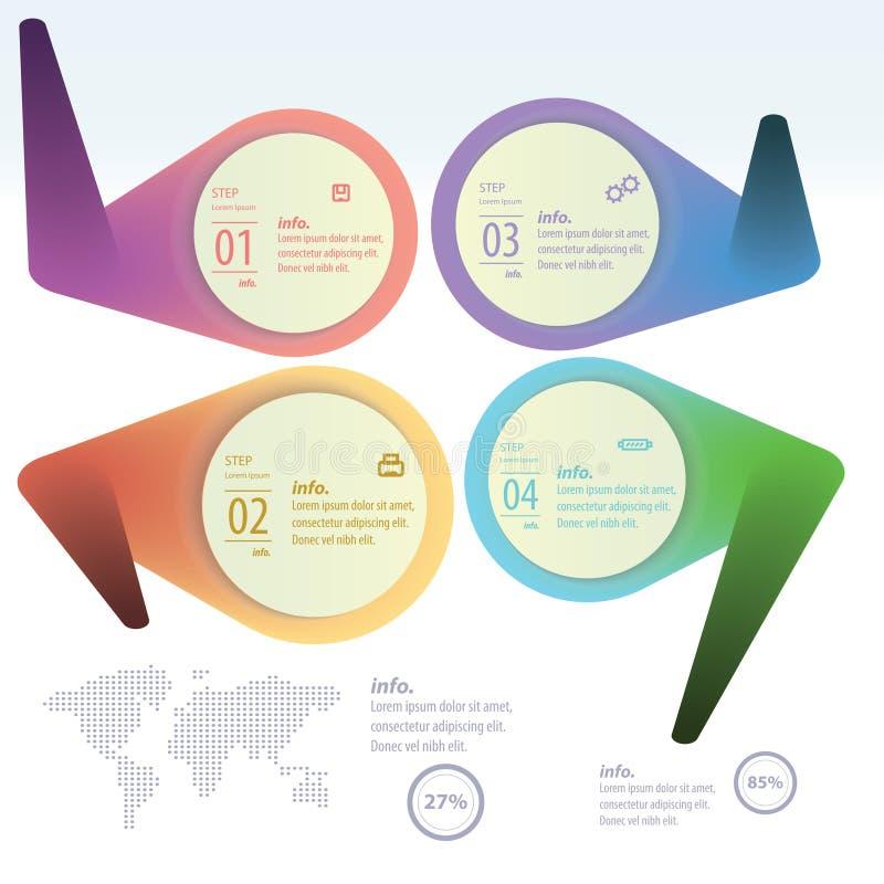 Informação-gráfico ilustração royalty free