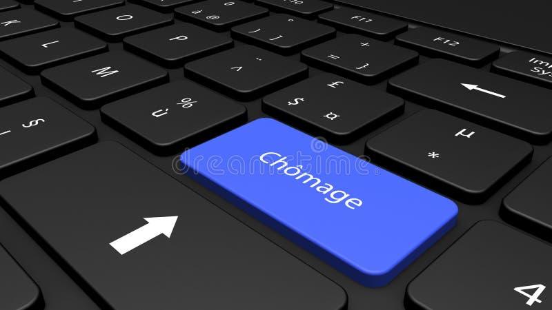 Informação no teclado ilustração do vetor