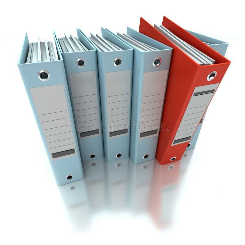 Información de archivaje y de organización libre illustration