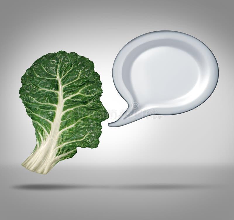 Información de la nutrición stock de ilustración