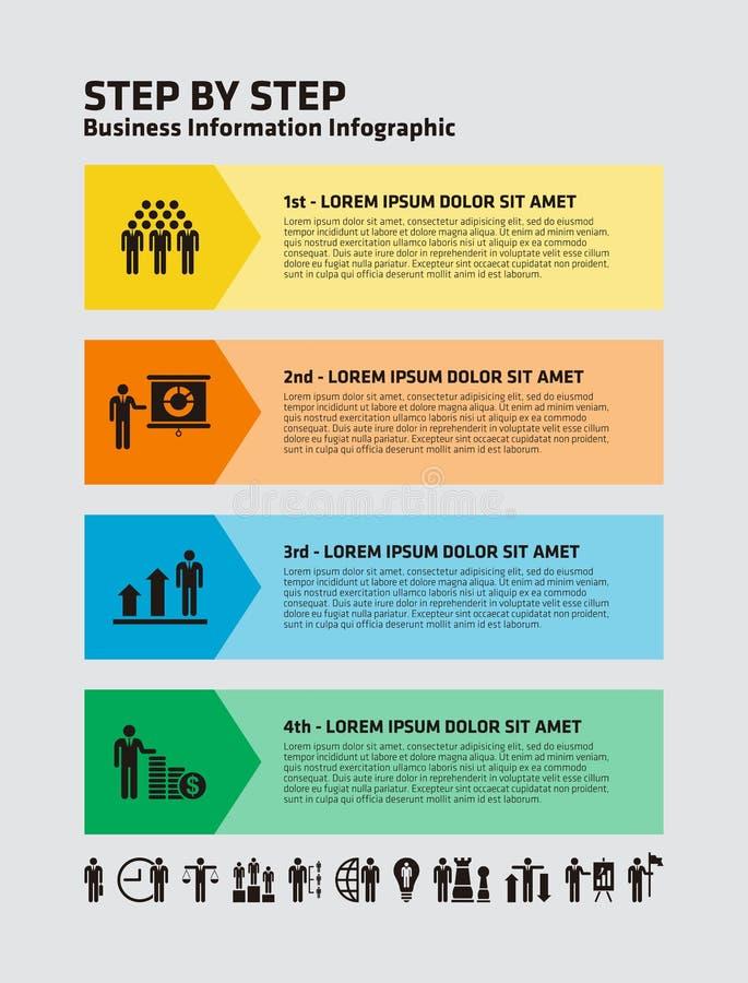 Download Información Infographic Del Negocio Ilustración del Vector - Ilustración de gráfico, finanzas: 42437866