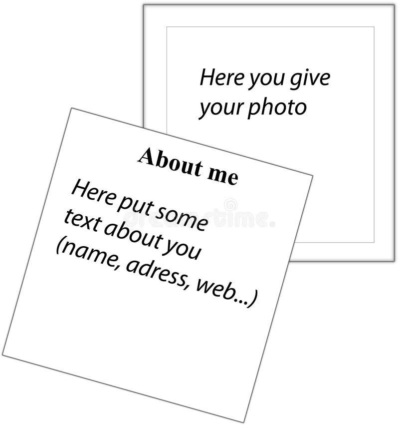 Información sobre lista imagen de archivo libre de regalías
