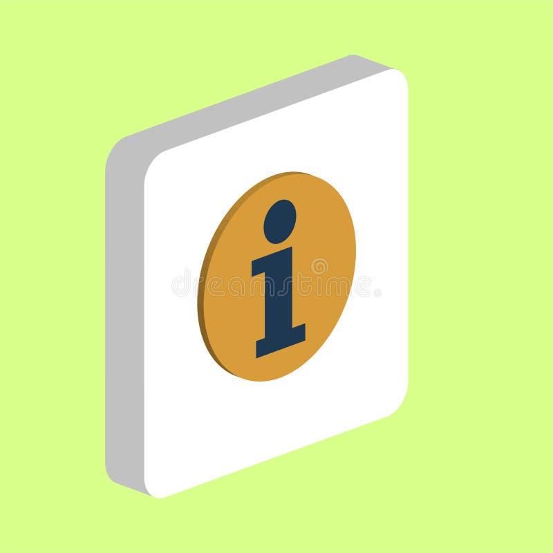 Informacja, Ewidencyjny komputerowy symbol ilustracji
