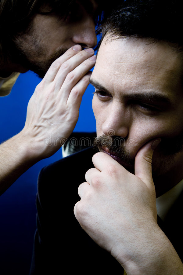 Informant Leaking Secrets stock image