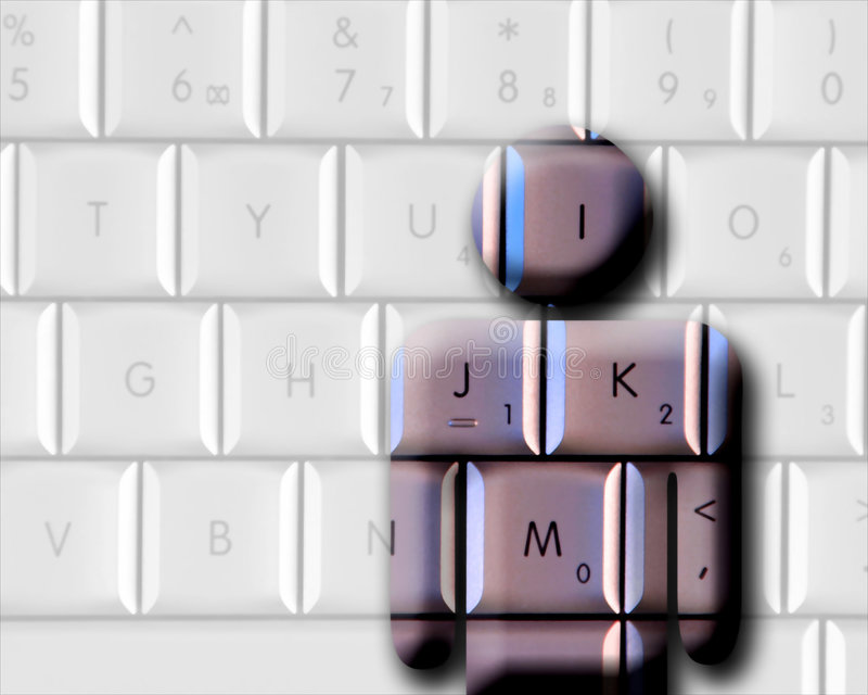 Informaticien illustration libre de droits