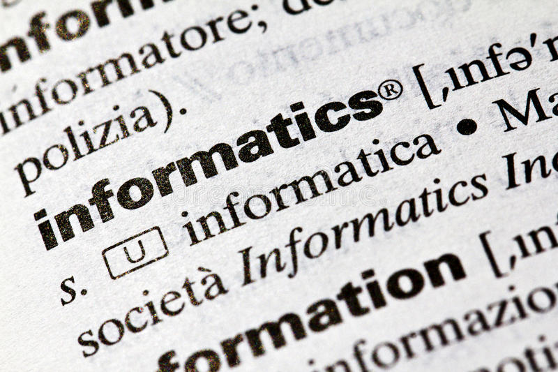 informatics arkivfoto